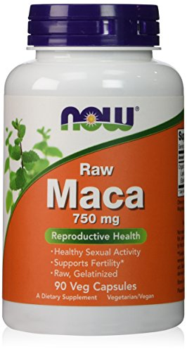 Now Foods Maca 750 mg - 90 vcaps