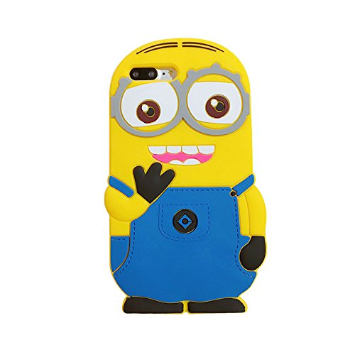 ce31dfe5e4 Image Unavailable. Image not available for. Color: CASESOPHY Minions Case  for iPhone ...