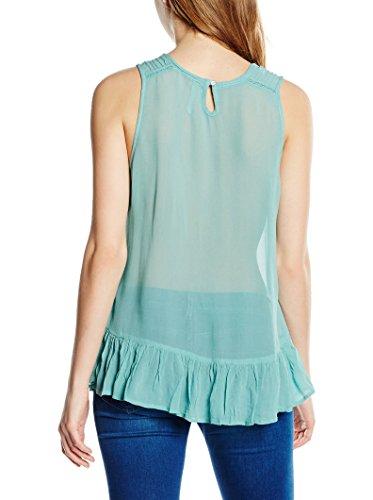Pepe Jeans London Damentop Lucille Gr. L 80 PL301389 aquablau 518 Damen Top Bluse Shirt