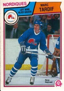 Amazon.com  1983 O-Pee-Chee Regular (Hockey) card 305 Marc Tardif of ... 5ae527c09