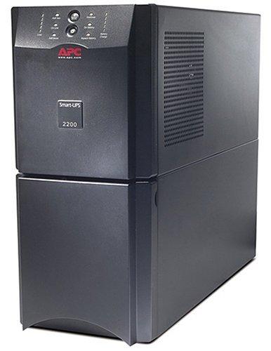 APC Smart-UPS 2200VA 1980W 120V Battery Backup Power Supply (SUA2200) (Renewed)
