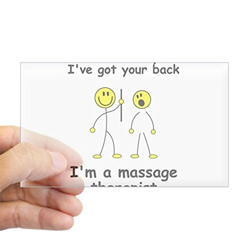 CafePress massage therapist Sticker Rectangle