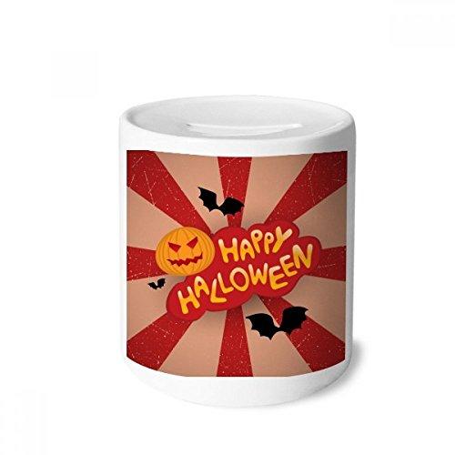 DIYthinker Cartoon Halloween Fonts Money Box Saving Banks Ceramic Coin Case Kids Adults]()