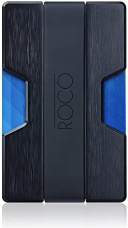 Men's Accessories ROCO Minimalist Aluminum Slim Wallet RFID BLOCKING Money Clip No.2