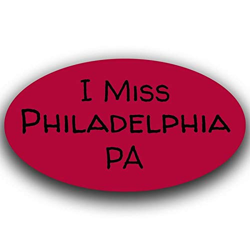 More Shiz I Miss Philadelphia Pennsylvania Decal Sticker Travel Car Truck Van Bumper Window Laptop Cup Wall - One 5.5 Inch Decal - MKS0507