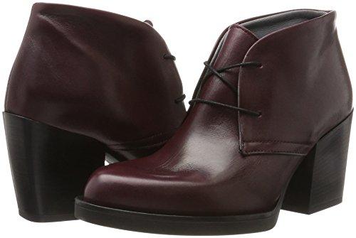 Para Mill Morado Mujer Kessi Bor De Cordones Zapatos Lili Derby bordò YpqSd4d