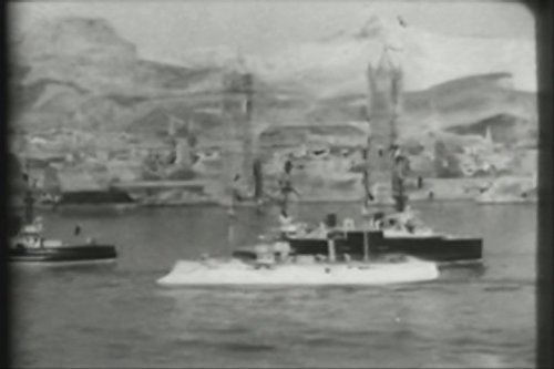 Bombardment Of Taku Forts  By The Allied Fleets