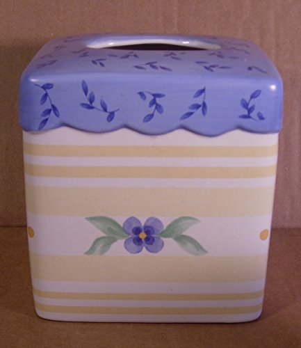 Pfaltzgraff Summer Breeze Pattern Tissue Box Cover
