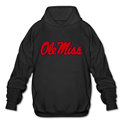 Ole Miss Rebels Football Hugh Freeze Men's Cool Hooded Sweatshirt Pullover