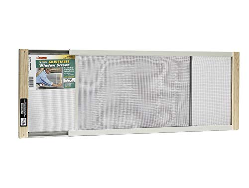 Frost King WB Marvin AWS1045 Adjustable Window Screen, 10in High x Fits 25-45in Wide