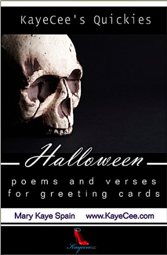 Halloween: Poems & Verses for Greeting Cards (KayeCee's Quickies Book -