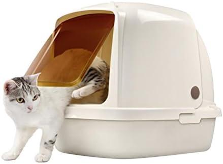 DAN Caja de Piedras Cerrada para Gatos con Pala, 8L