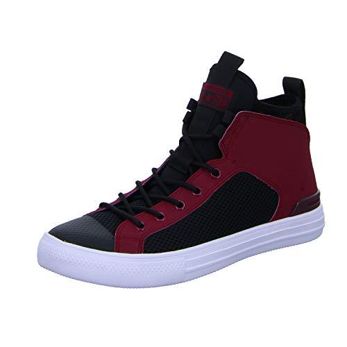 Converse CTAS Ultra Mid, Zapatillas de Deporte Unisex Adulto Multicolor (Pomegranate Red/Black/White 508)