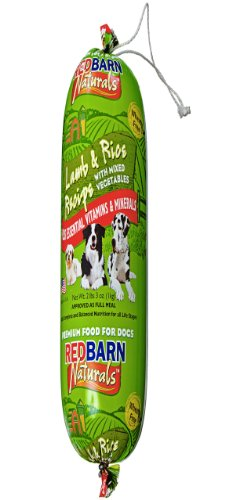 Redbarn Pet Products Lamb and Rice Food Roll, My Pet Supplies