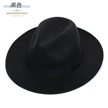 DMXY-Retro Hat Groom Wedding hats gentleman Hat large broad-brimmed hats  464f4a592