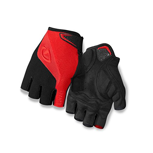 Black And Red Gloves (Giro Bravo Gloves, Red/Black, Medium/15