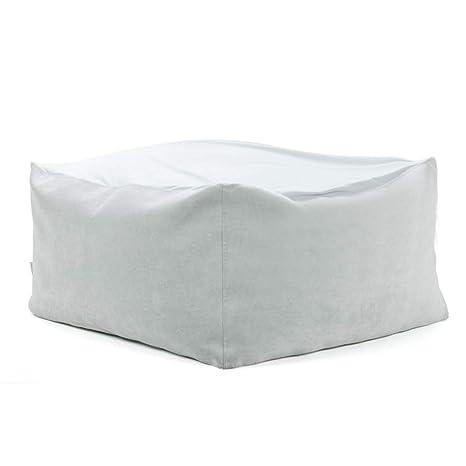 Sofá perezoso Bean Bag 66 * 66 * 35cm Solo Silla Minimalista ...