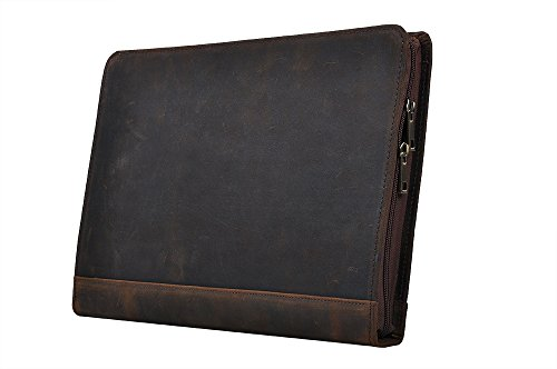 Leather Organizer Portfolio Notepad Surface