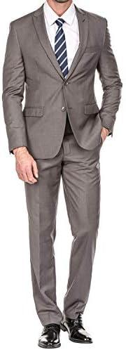 メンズ スーツ 夏 セットアップ 結婚式 ビジネス カジュアル オシャレ 大きいサイズ スリム