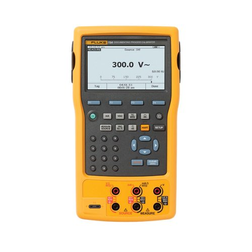 Fluke 754/SI HART Documenting Process Calibrator with SI Unit, -10 to +50 Degrees C Temperature Range, 5.4' Width x 9.6' Height x 2.5' Depth
