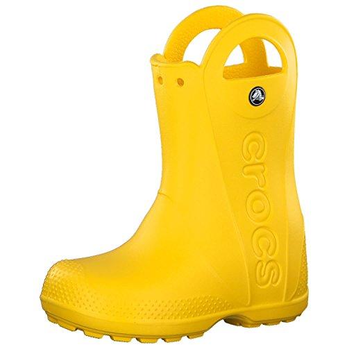 Crocs Infants/Toddlers Handle It Rain Boot,Yellow,US 7 M
