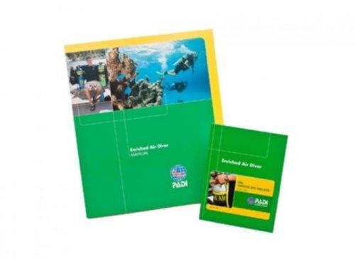 PADI Enriched Air Diver Manual Training Materials for Scuba Divers