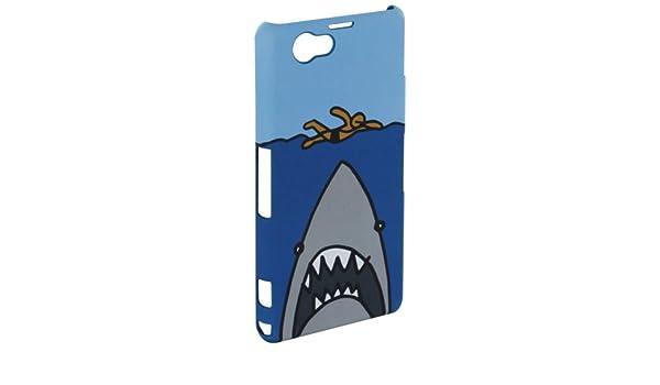Cállate la Boca CBCT010 - Carcasa para Sony Xperia Z1 Compact, diseño tiburón: Cállate la boca: Amazon.es: Electrónica