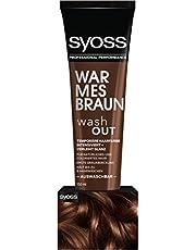 Syoss Wash Out ciepły brązowy poziom 0 (1 x 150 ml)