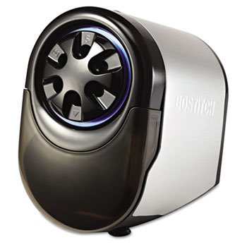 Bostitch EPS11HC QuietSharp Glow Classroom Electric Pencil Sharpener, Silver/Black