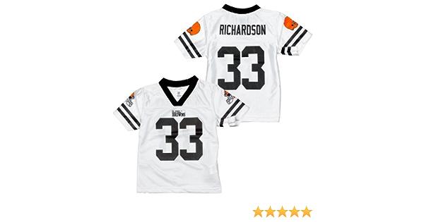 Amazon.com : NFL Cleveland Browns Toddlers Trent Richardson #33 ...