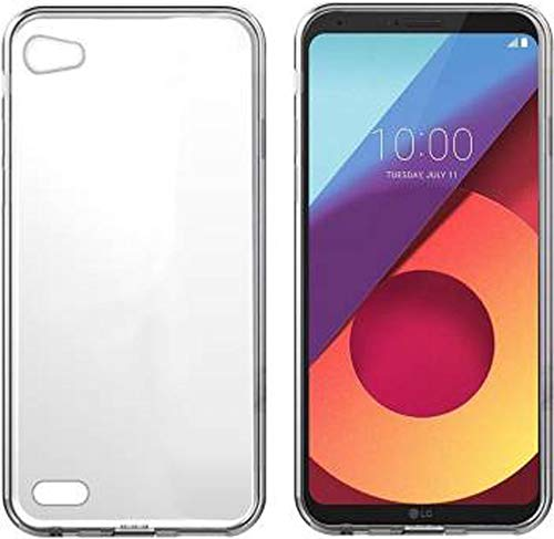 Putku Creations Plain Transparent Backcover for LG Q6