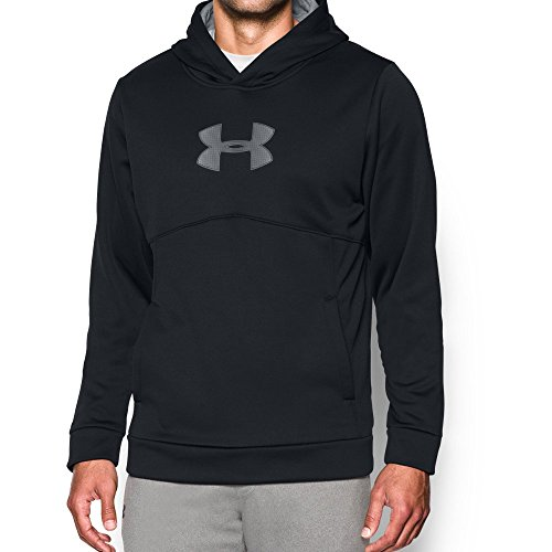 Under Armour Men's Storm Icon Logo Hoodie, Black (001), X-Large