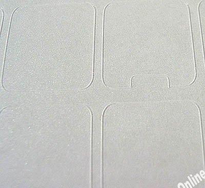Blank keyboard stickers transparent background
