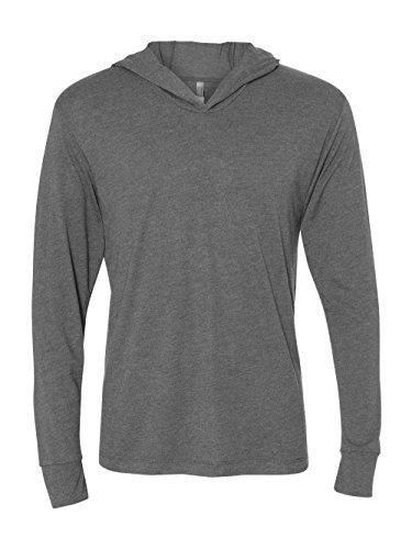 Hood Apparel - Next Level 6021 Tri-Blend Long Sleeve Hoody - Premium Heather - L