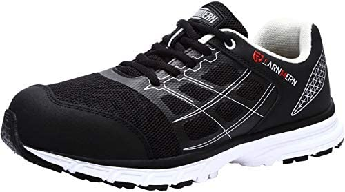 LARNMERN Steel Toe Work Shoes Men Women