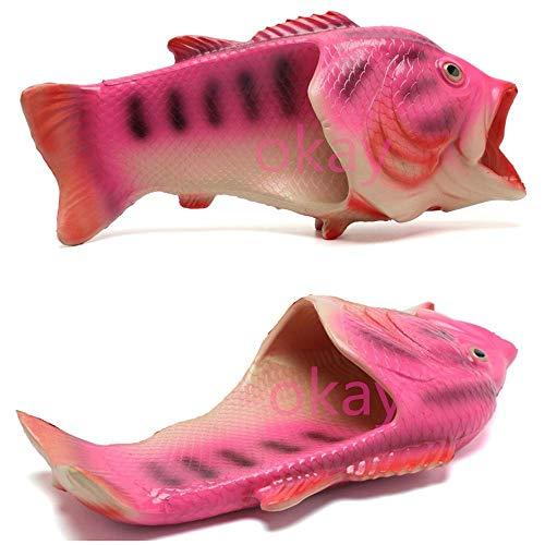 Unisex Multiple Okay Beach Creative Shoes Man Colour Slippers Fish Slippers Fish Handmade Fish Women Slipper pxxgwq
