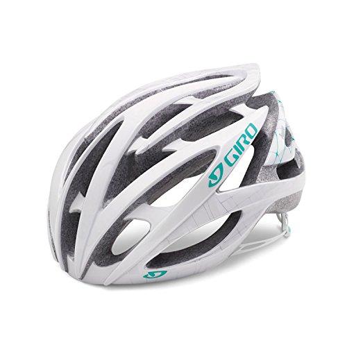 Giro Amare 2 Helmet - Women's White Pearl Mosaic (Pearl White Bike Helmet)