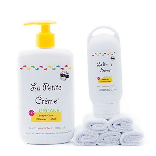 La Petite Creme - Organic French Diapering (Starter Kit with Washcloths)