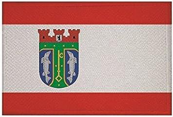 Aufnäher Berlin Patch Flagge Fahne