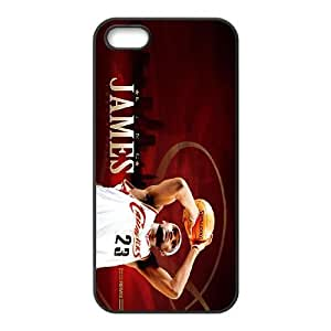 Generic Cell Phone Cases For Apple Iphone 5 5S Cell Phone Design With 2015 NBA #23 Lebron James niy-hc812967 Kimberly Kurzendoerfer