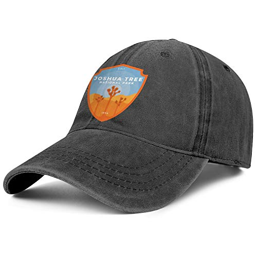 Unisex Men Adjustable Joshua Tree National Park Baseball Cap Plain Sunshade Hats