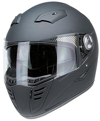 Casco integral redbike rb1200 negro mate homologado X Moto Biker Custom 2XL negro