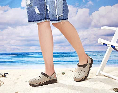 dimensioni da e pantofole Baotou 3 casual scarpe da di estate scarpe antiscivolo traspirante grandi marea fondo uomo morbido Foro spiaggia scarpe sandali WFL TSOwIqw