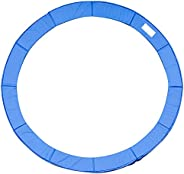 HOMCOM 14FT Trampoline Pad Trampolining Replacement Jump Bounce Exercise Gym (Blue)