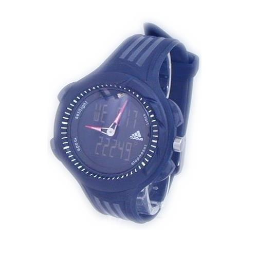 adidas ADP1301 - Reloj digital de cuarzo para hombre con correa de acero inoxidable, color plateado: Amazon.es: Relojes
