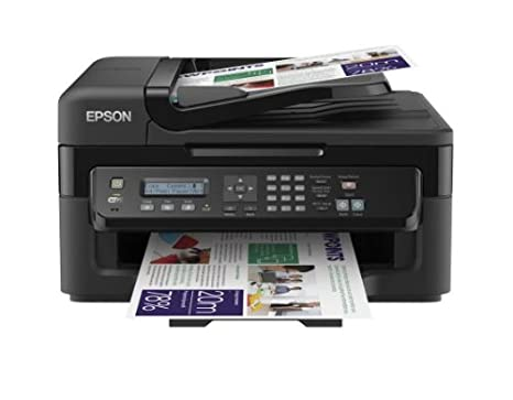 Epson WorkForce WF-2510WF Stampante Multifunzione a Getto d'Inchiostro, Nero C11CC58302 copiatore copier espon