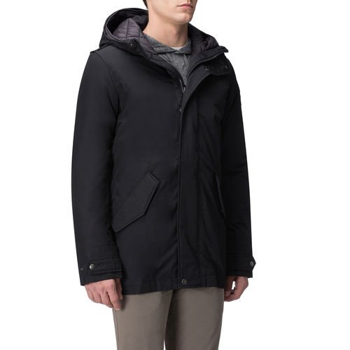Eskimo Military Long Woolrich Blu Navy vqw55E4