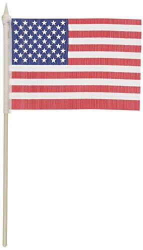 fun-express-polyester-american-flag-1-dozen
