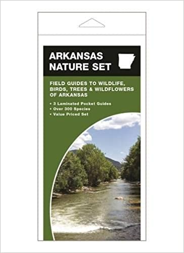 `FB2` Arkansas Nature Set: Field Guides To Wildlife, Birds, Trees & Wildflowers Of Arkansas. unique exterior Garantia Lunch linear