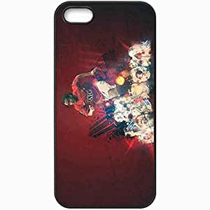 Personalized iPhone 5 5S Cell phone Case/Cover Skin Anderson FIFA UEFA Football Black